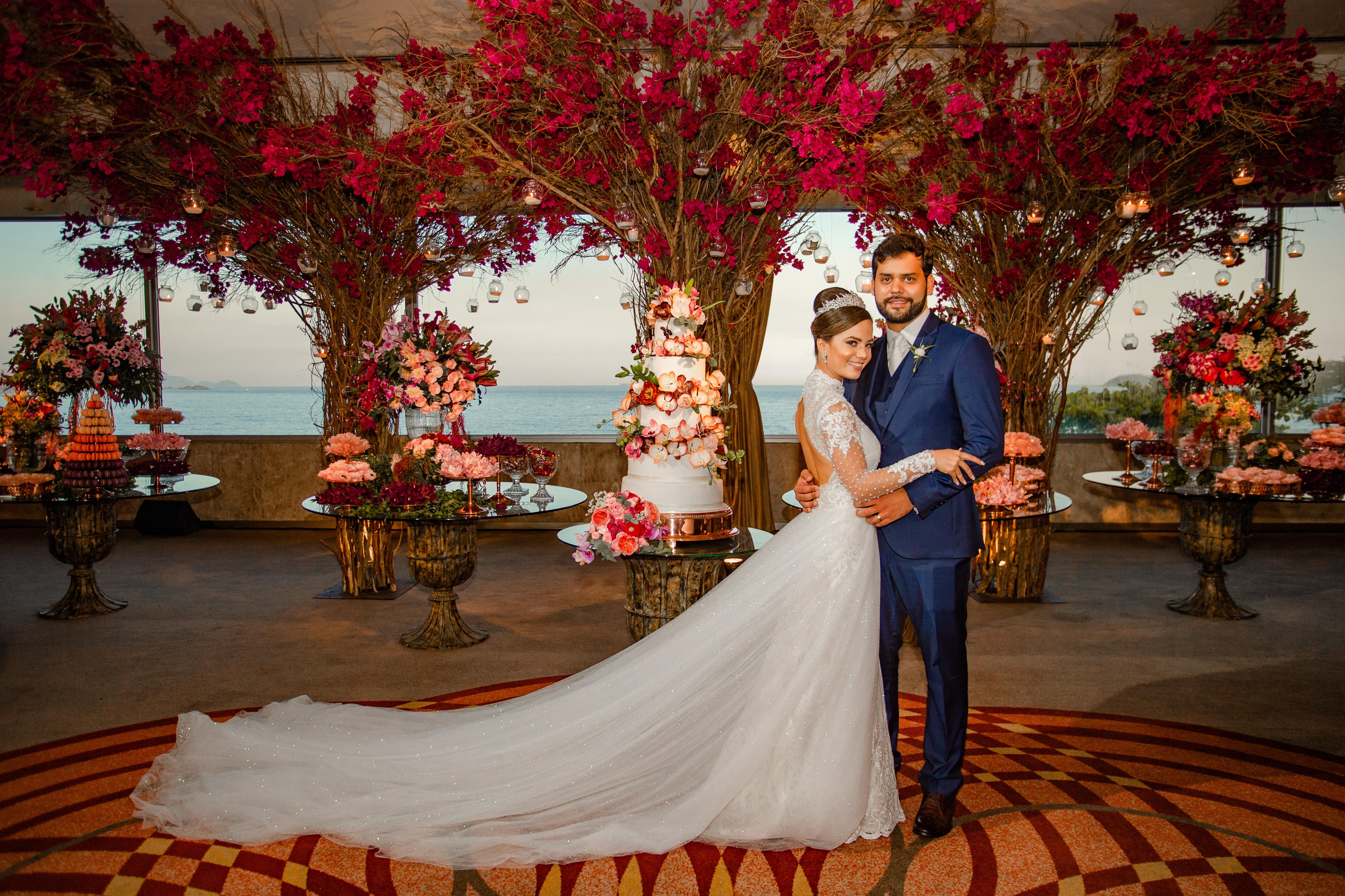 Casamento florido: Victória & Fernando